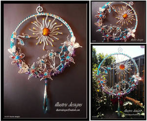 Large floral suncatcher