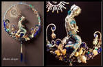 Mermaid sculpture / suncatcher