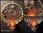 Christmas Reindeer Candleholder