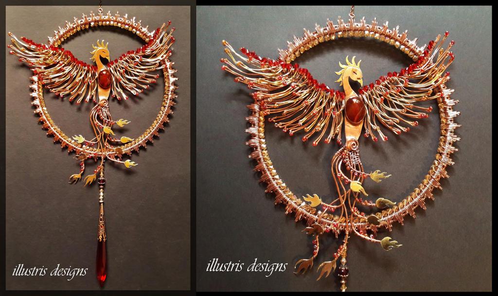 Phoenix Suncatcher by illustrisdesigns