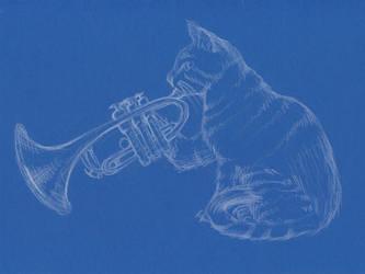 In Blues by PhosphorosBrunda