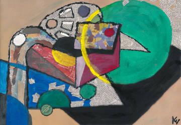 Cubistic still life by PhosphorosBrunda