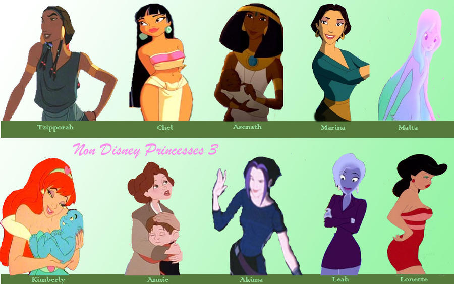 joseph king of dreams coloring pages - non disney princesses 3 by jamimunji on deviantart