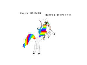Day 23 unicorn