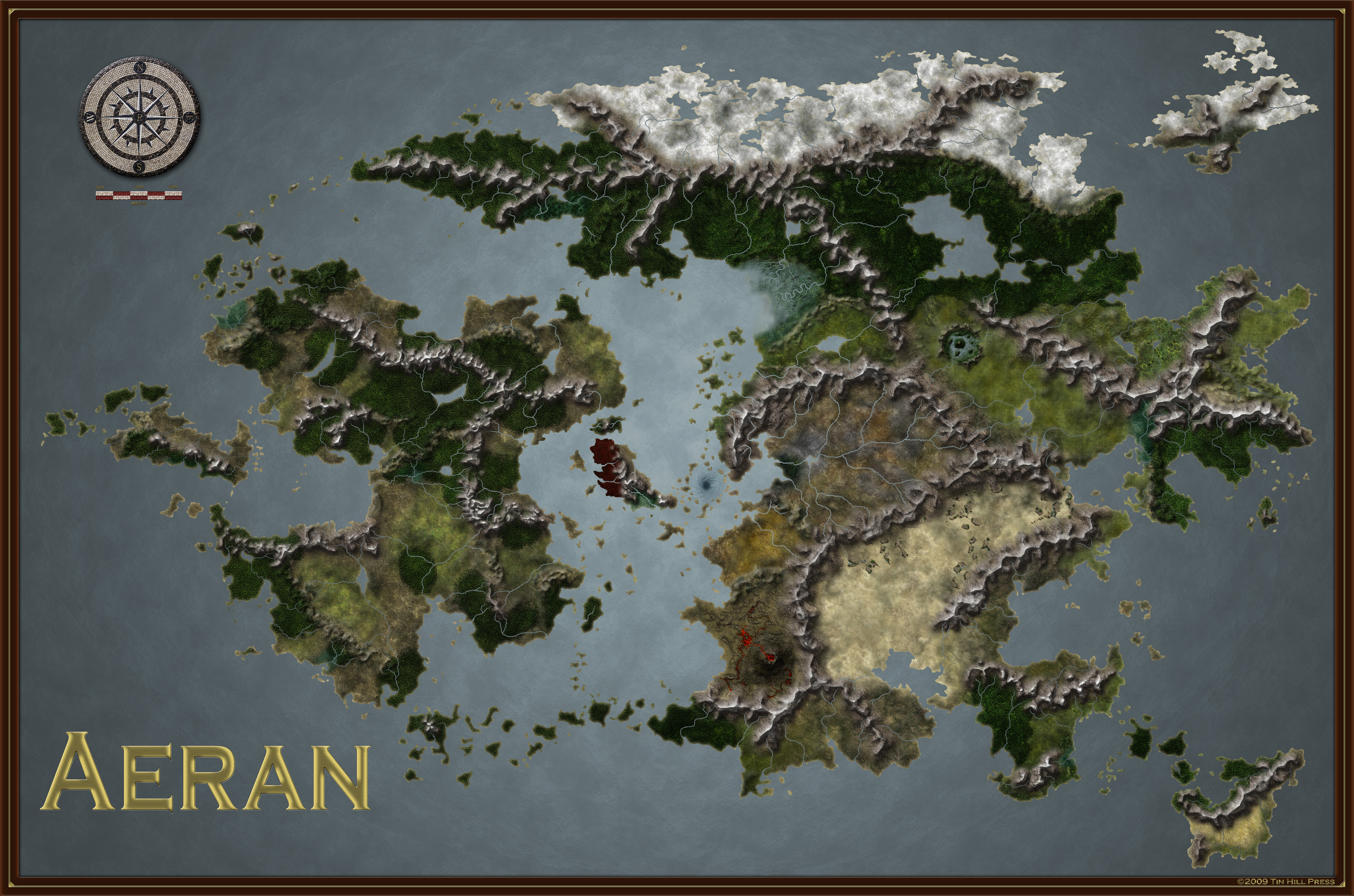 The World of Aeran by coyotemax