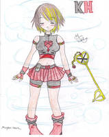 Me a Kingdom Heart Character by G2cutie