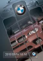 BMW-X6-M-Poster by batchdenon