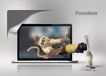Freedom by batchdenon