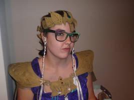 zelda whit glasses by shaza-v