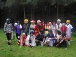 leaf village group shot