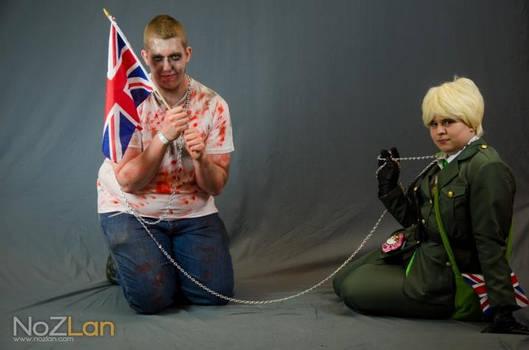 england whit zombi minion