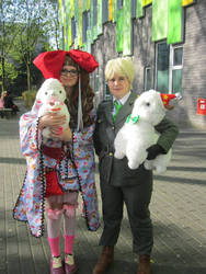 whit are fluffy alpaca friends