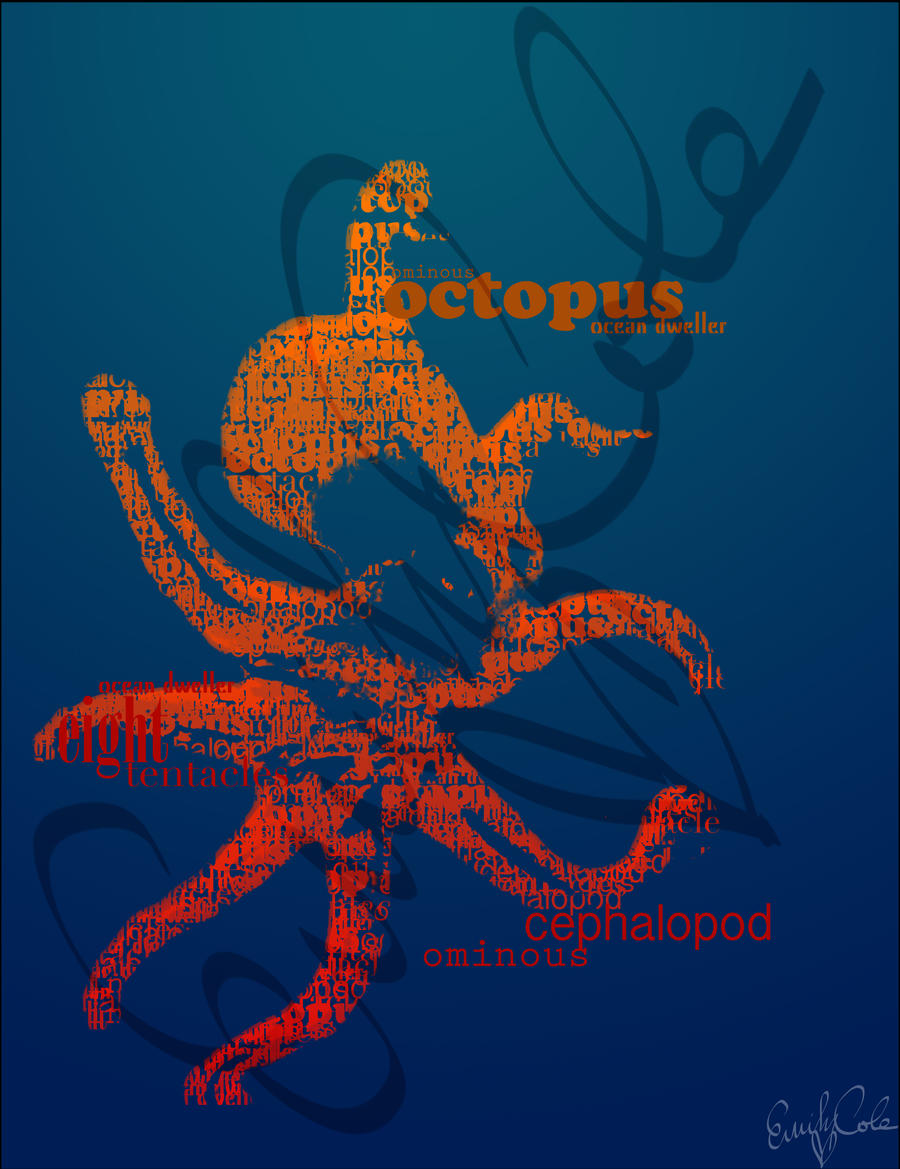 Type Octopus by EmersonWolfe