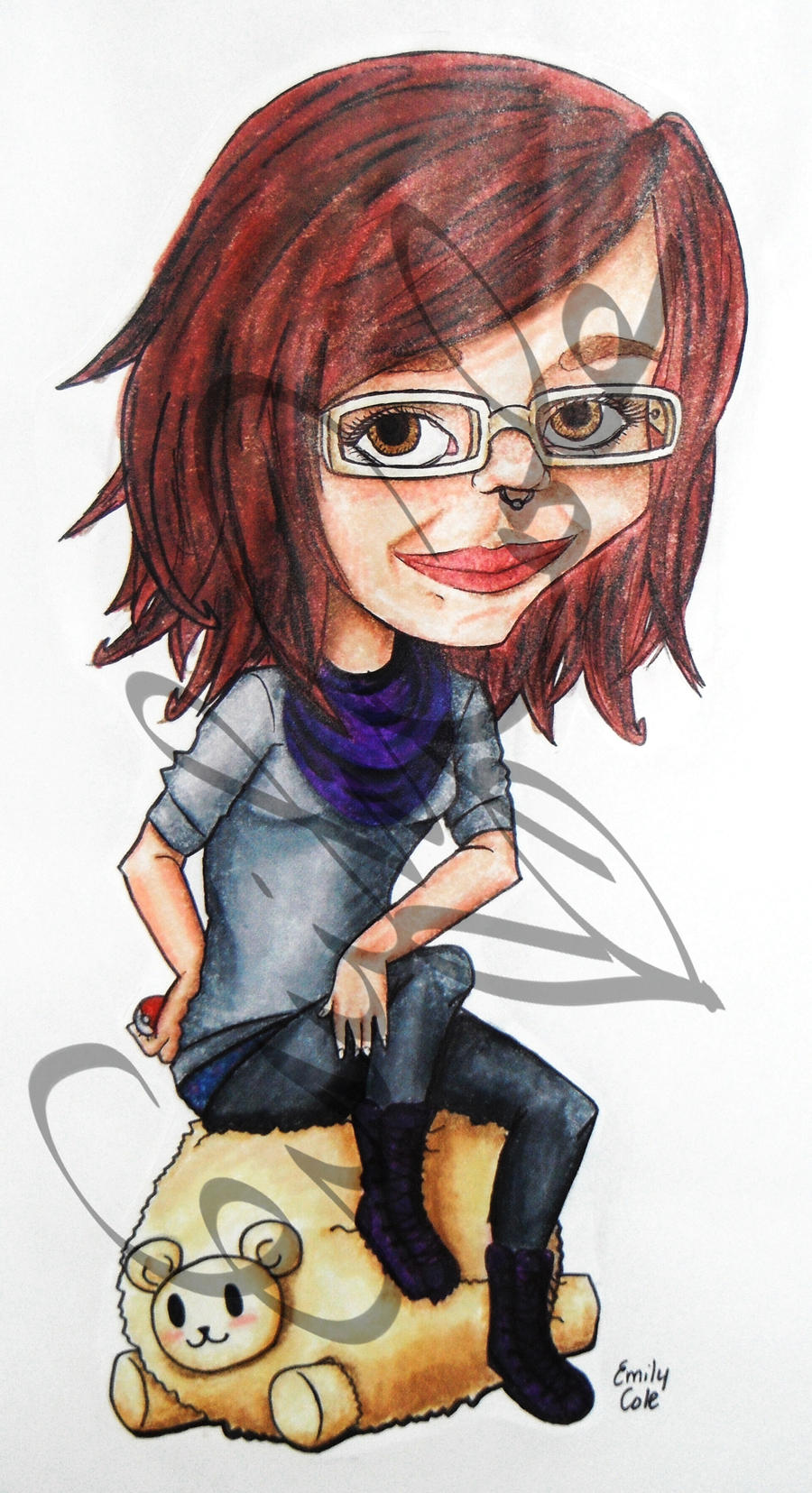 Student Caricature by EmersonWolfe