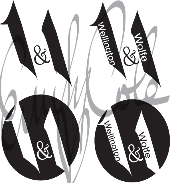 Wellington and Wolfe-Logo by EmersonWolfe