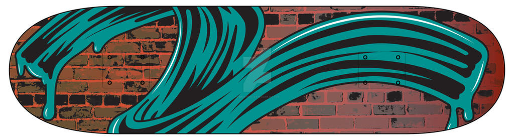 Skateboard Design by EmersonWolfe