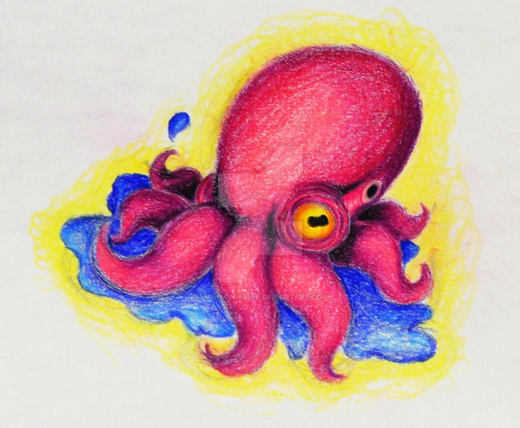 Pink Octopus by EmersonWolfe