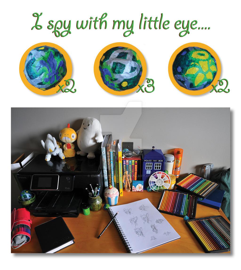 Eye Spy by EmersonWolfe
