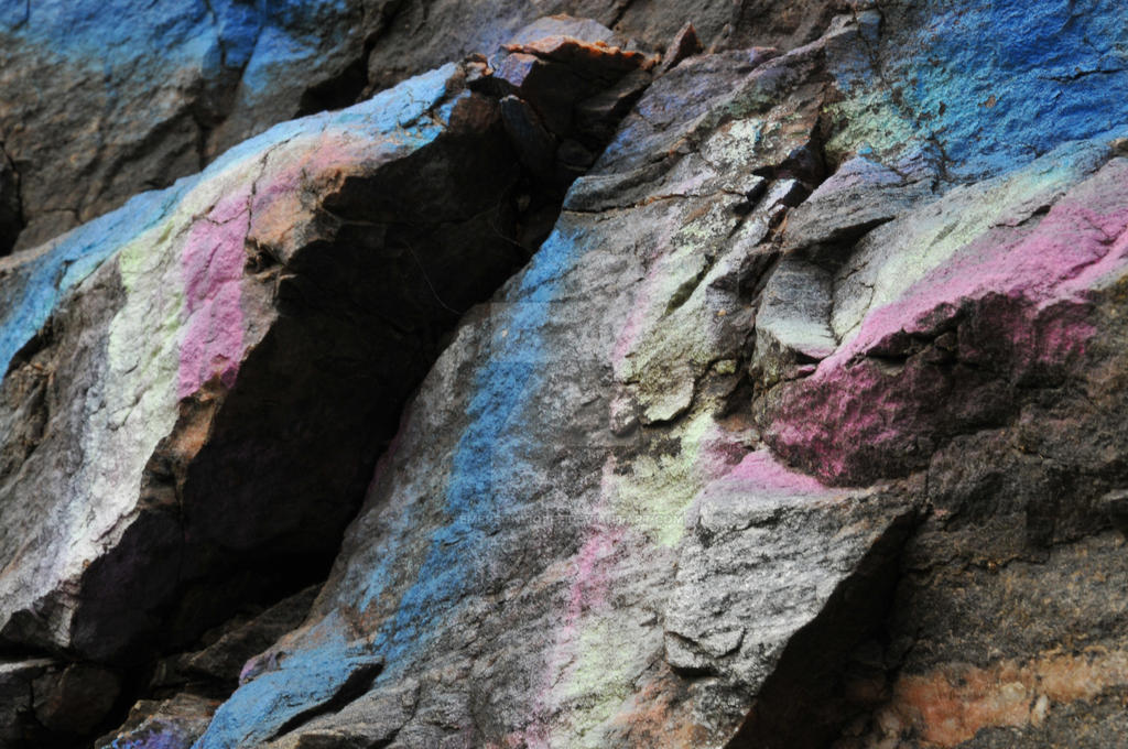 Pastel Rocks 2 by EmersonWolfe