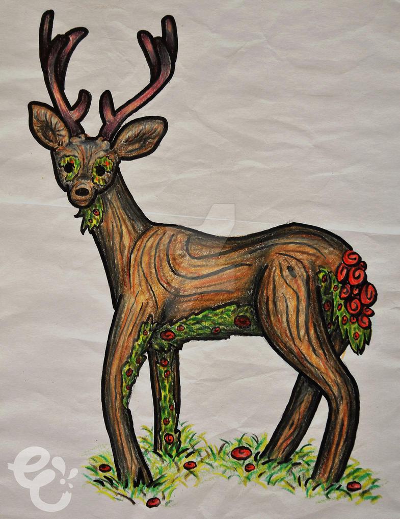Forest Spirit by EmersonWolfe