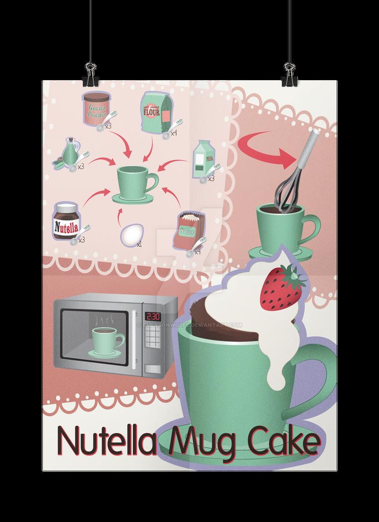 Nutella Mug Cake v2.0 by EmersonWolfe