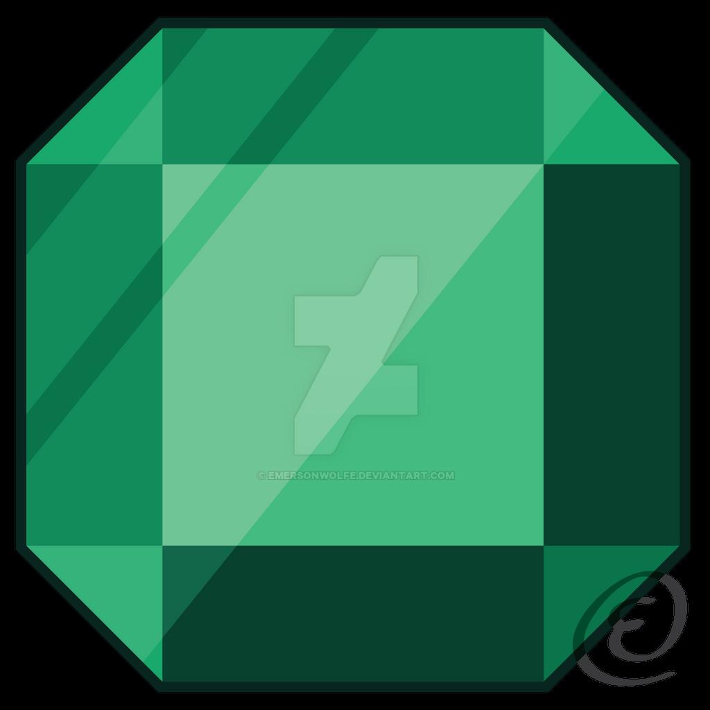Emerald-Gem by EmersonWolfe