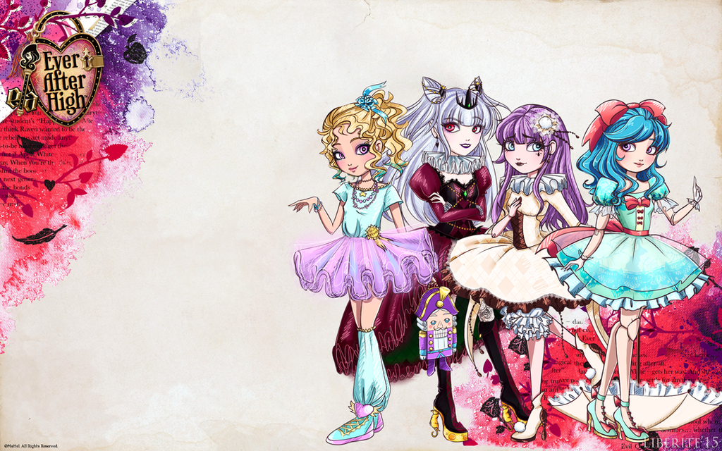 my ever after high characters by liberitee on deviantart