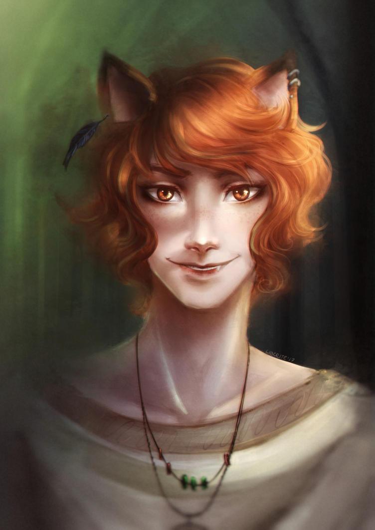 Red fox by LibeRitee