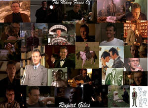 Many Faces of Rupert Giles
