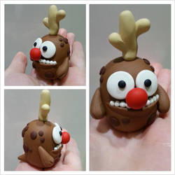 Ralph the Red Nosed Reindeer Monster