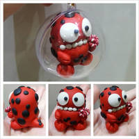 Red Monster Bauble