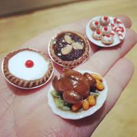 Miniature Christmas Feast