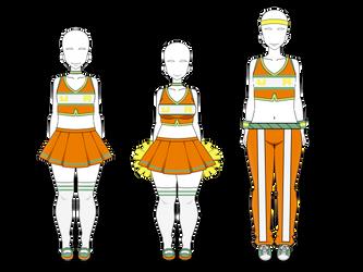 .: BNHA Cheer Uniform Exports :.