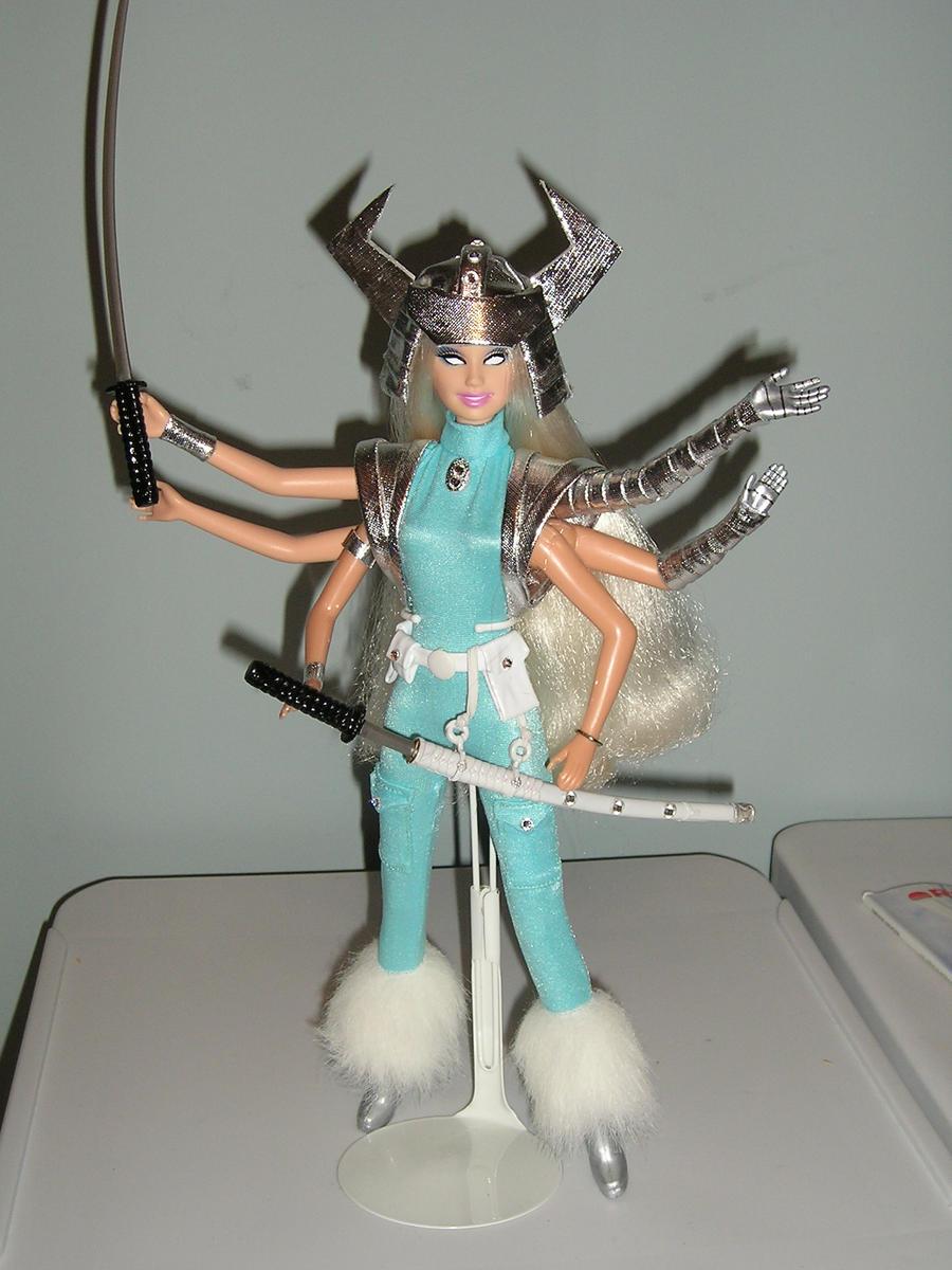 Spiral custom Barbie doll by BabyDollLJ