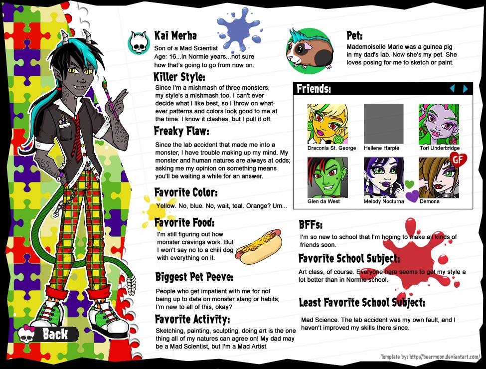 Kai Merha profile page by BabyDollLJ