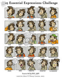 25 Expressions of Keener by Oly-RRR