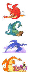 Dragons by Oly-RRR
