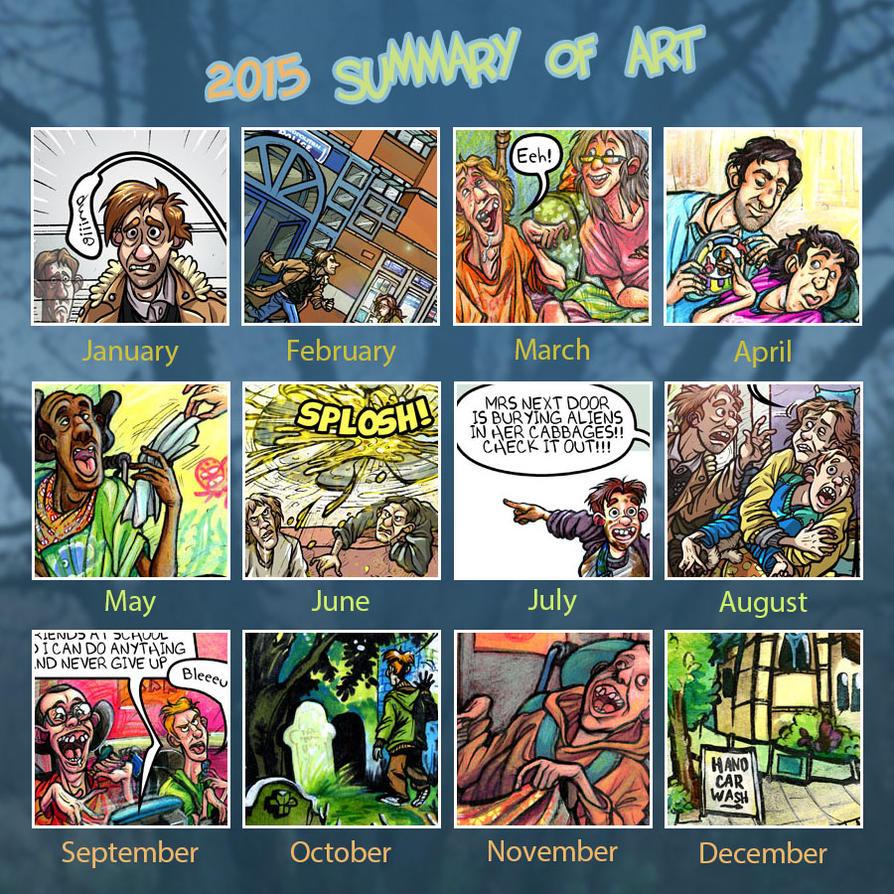 Art Summary 2015 by Oly-RRR