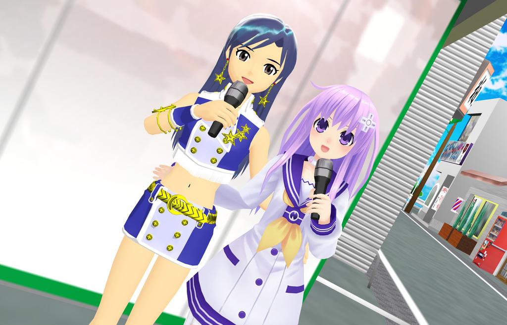 Singing With Chihaya by nipa3008