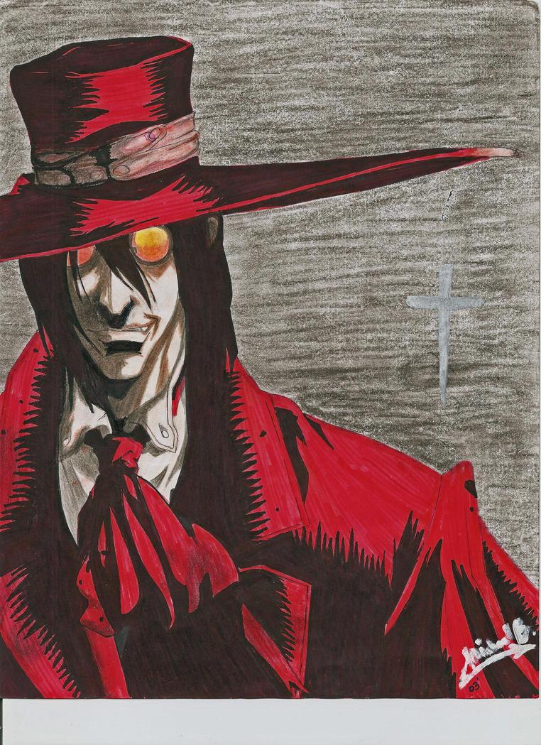 Van Helsing -Anime version- by michaelDangeloVan Helsing Drawing