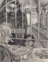 Gringott's Bank by NicoPony