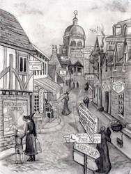Diagon Alley by NicoPony