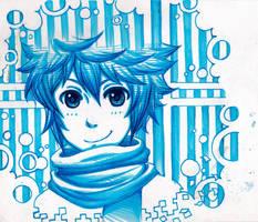 Blue Yuki by Ark-san