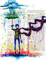 When the Rain comes by Ark-san