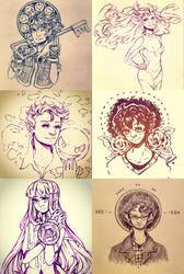 Sketch Dump 6 by Ark-san