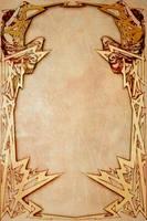 Art deco frame by AzurylipfesStock