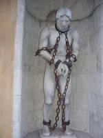 statue in chains2 by AzurylipfesStock