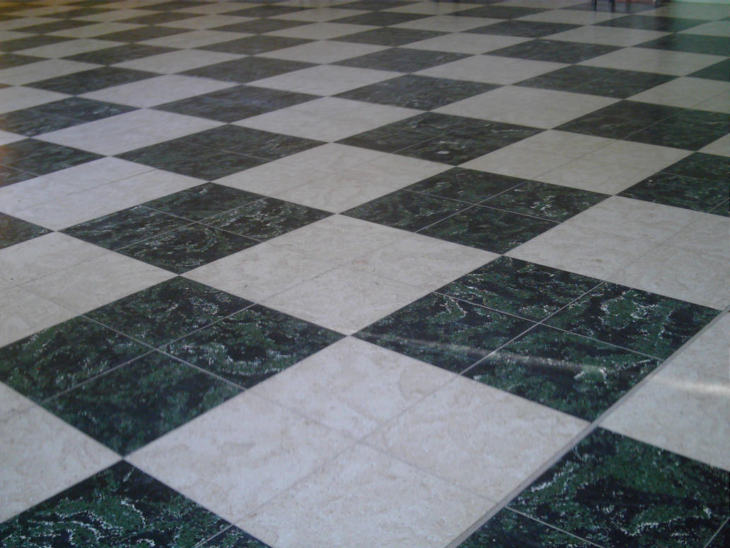 Black And White Tiled Floor 2 By Azurylipfesstock On Deviantart