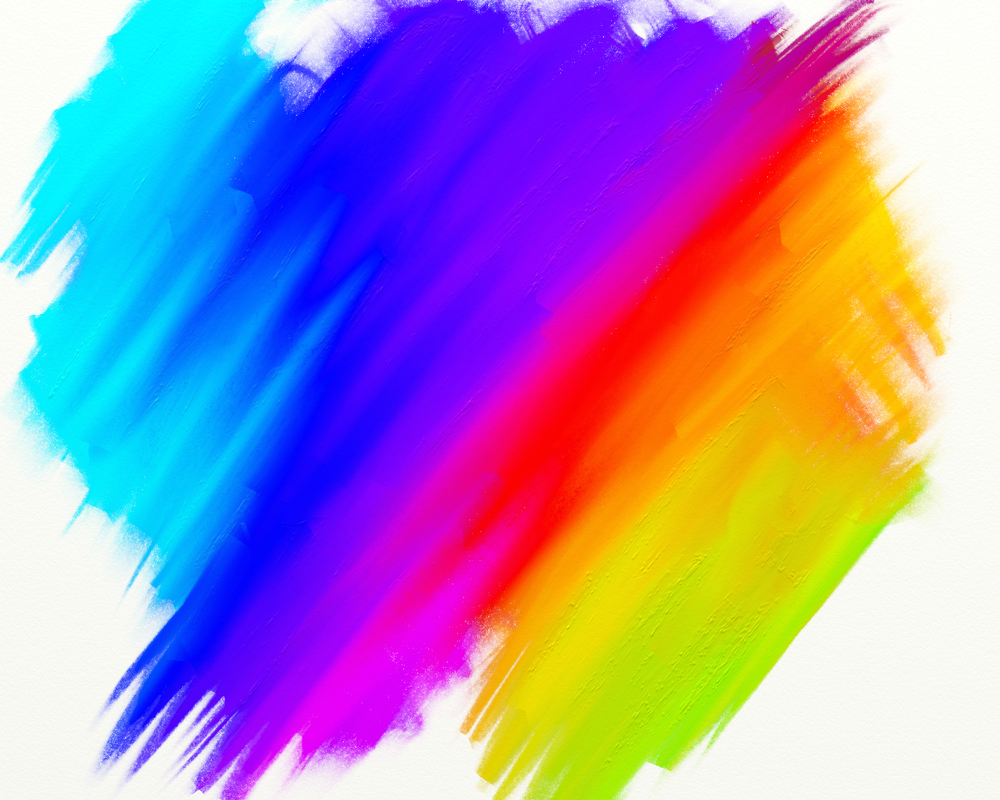 Colorful paint Smears by JuiceBox97 on DeviantArt