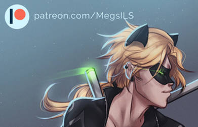 Patreon preview: Adult Chat Noir by MegS-ILS